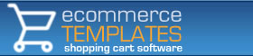 Ecomm Template shopping cart logo